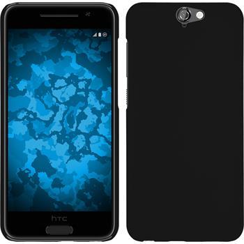 Hardcase für HTC One A9 gummiert schwarz