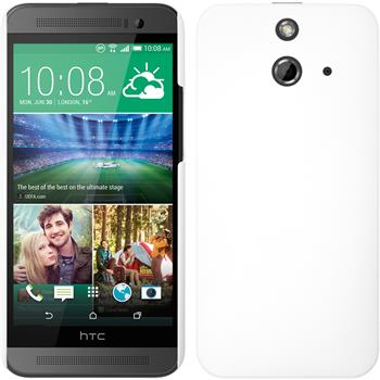 Hardcase for HTC One E8 rubberized white