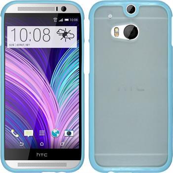 Hardcase für HTC One M8 Frame blau