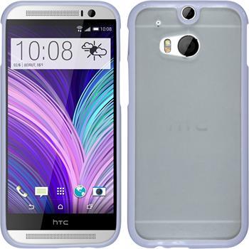 Hardcase für HTC One M8 Frame lila