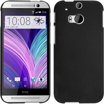Hardcase for HTC One M8 rubberized black