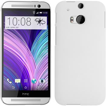 Hardcase for HTC One M8 rubberized white