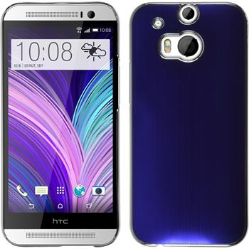 Hardcase One M8 Metallic blau