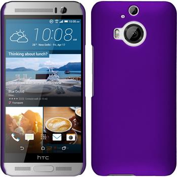 Hardcase for HTC One M9 Plus rubberized purple