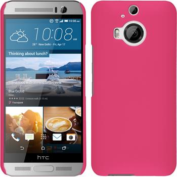 Hardcase One M9 Plus gummiert pink