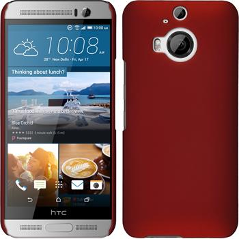 Hardcase One M9 Plus gummiert rot
