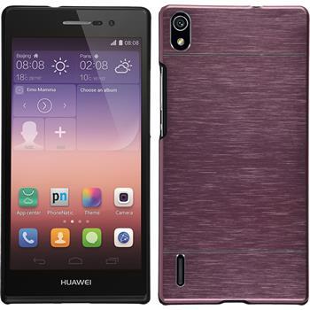 Hardcase Ascend P7 Metallic rosa