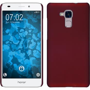 Hardcase Honor 5C gummiert rot