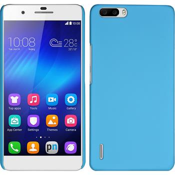 Hardcase Honor 6 Plus gummiert hellblau