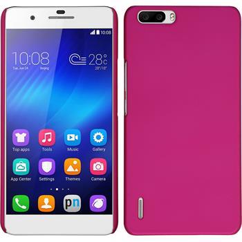 Hardcase Honor 6 Plus gummiert pink