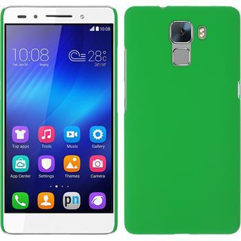 Hardcase für Huawei Honor 7 gummiert grün