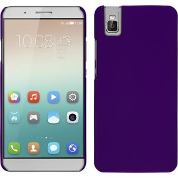 Hardcase für Huawei Honor 7i gummiert lila