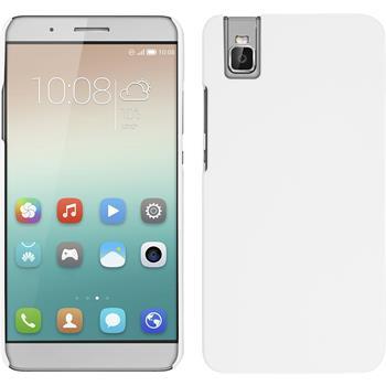 Hardcase für Huawei Honor 7i gummiert weiß