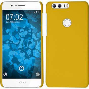 Hardcase Honor 8 gummiert gelb
