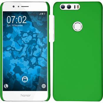 Hardcase für Huawei Honor 8 gummiert grün