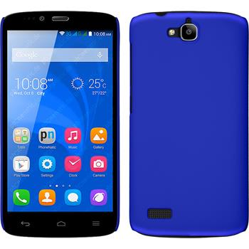 Hardcase for Huawei Honor Holly rubberized blue