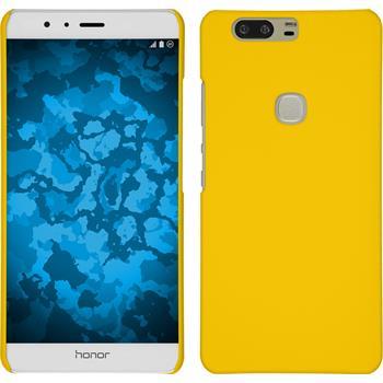 Hardcase Honor V8 gummiert gelb