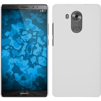 Hardcase für Huawei Mate 8 gummiert weiß
