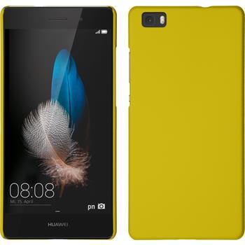 Hardcase P8 Lite gummiert gelb
