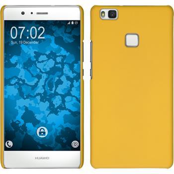 Hardcase P9 Lite gummiert gelb