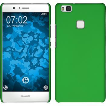 Hardcase P9 Lite gummiert grün + 2 Schutzfolien