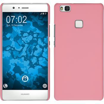 Hardcase für Huawei P9 Lite gummiert rosa