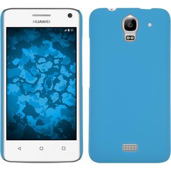 Hardcase für Huawei Y360 gummiert hellblau