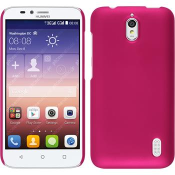 Hardcase Y625 gummiert pink