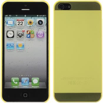 Hardcase for Apple iPhone 5 / 5s matt yellow