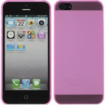 Hardcase for Apple iPhone 5 / 5s matt hot pink