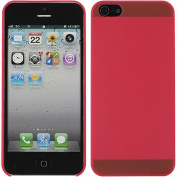 Hardcase for Apple iPhone 5 / 5s matt red