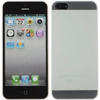 Hardcase for Apple iPhone 5 / 5s matt transparent