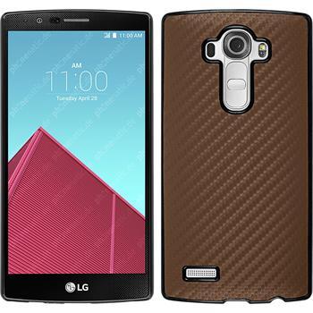 Hardcase for LG G4 carbon optics bronze