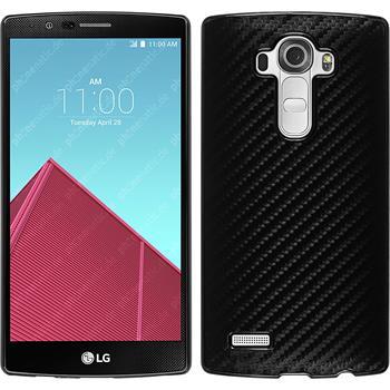 Hardcase for LG G4 carbon optics black
