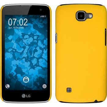 Hardcase K4 gummiert gelb