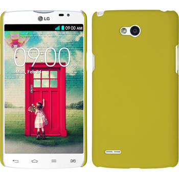 Hardcase for LG L80 Dual rubberized yellow