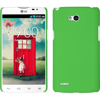 Hardcase for LG L80 Dual rubberized green
