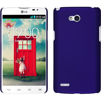 Hardcase for LG L80 Dual rubberized purple
