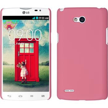 Hardcase for LG L80 Dual rubberized pink