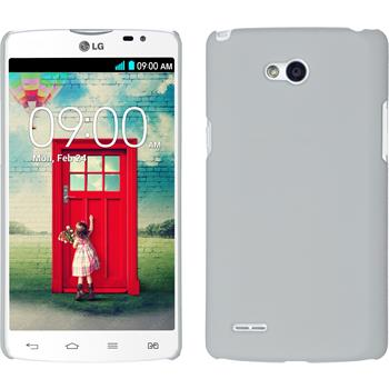 Hardcase for LG L80 Dual rubberized white