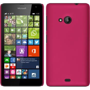 Hardcase Lumia 535 gummiert pink