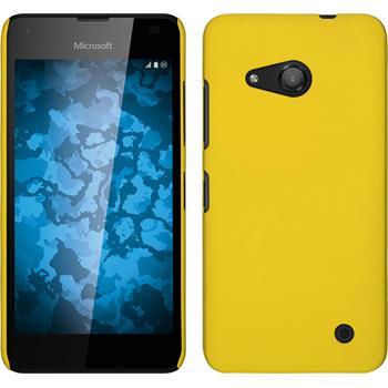 Hardcase Lumia 550 gummiert gelb