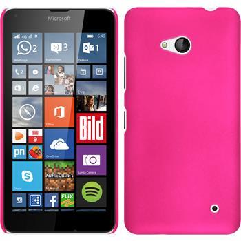 Hardcase Lumia 640 gummiert pink