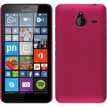 Hardcase Lumia 640 XL gummiert pink