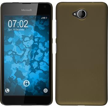 Hardcase Lumia 650 gummiert gold
