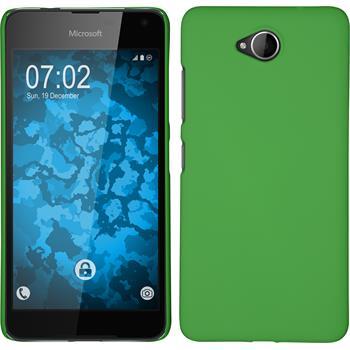 Hardcase Lumia 650 gummiert grün