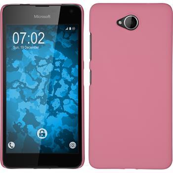 Hardcase Lumia 650 gummiert rosa