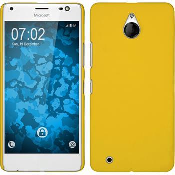 Hardcase Lumia 850 gummiert gelb