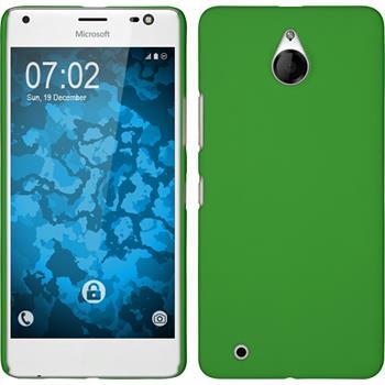 Hardcase Lumia 850 gummiert grün