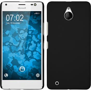 Hardcase Lumia 850 gummiert schwarz